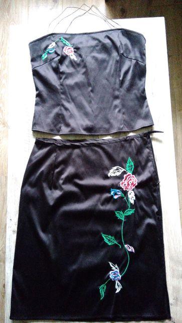 komplet spódnica i bluzka M,L