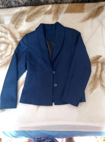 Школьный пиджак жакет фирмы Зиронька на девочку размер 128