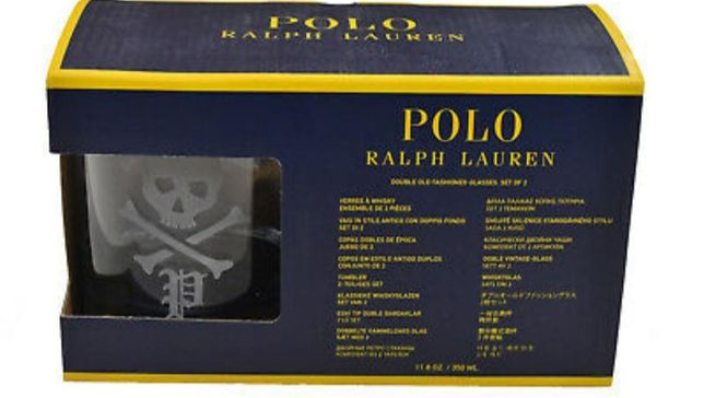 Szklanki pirackie polo Ralph Lauren