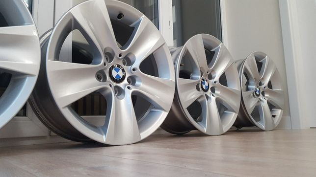 Alufelgi 17 ORG! BMW F10 11 E46 E84 E90 X1 X3 5x120 felgi styl 327 20#