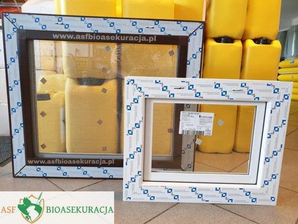 Okno inwentarskie 80x60, szyba zespolona, różne rozmiary i kolory