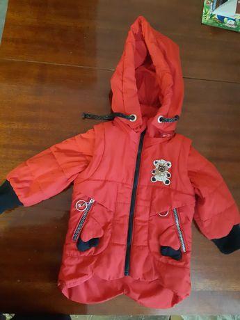 Курточка на девочку 1,5-2 года