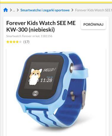 Smartwatch Forever kids kw 300 niebieski