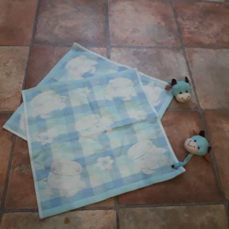 Детское полотенце с зверушкой