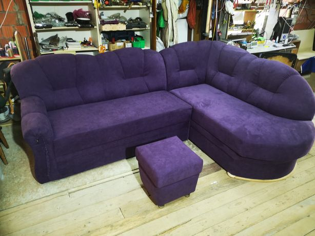 Реставрация- перетяжка мягкой мебели