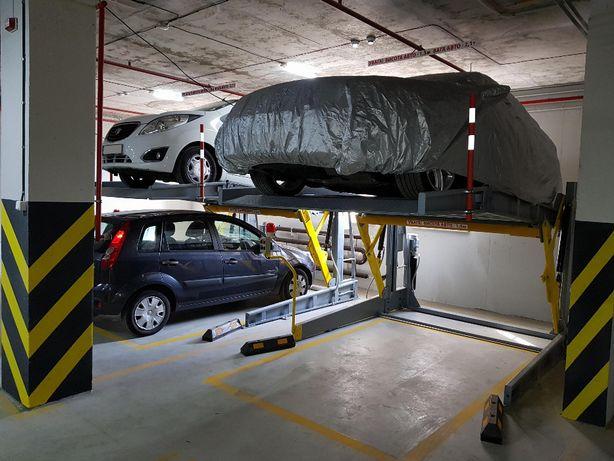 Автомобільний паркувальний підйомник на 2 авто з гідравлічним приводом