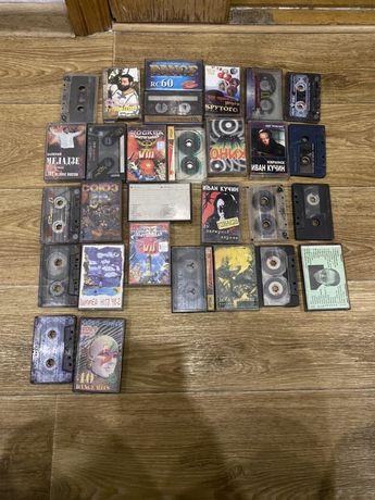 Музыкальные касеты