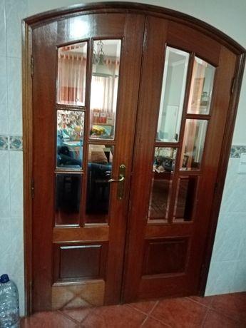Porta de sala mogno