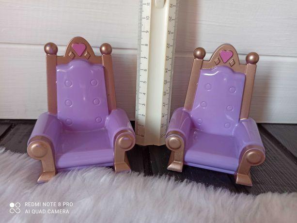 Игрушечная кукольная мебель троны кресла в замок