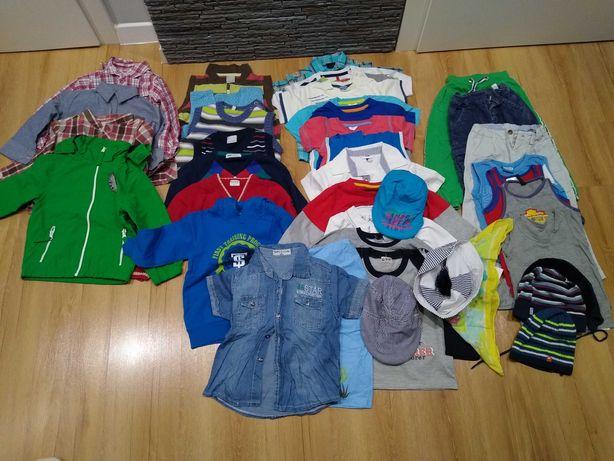 Ubranka dla chłopca rozmiar 98