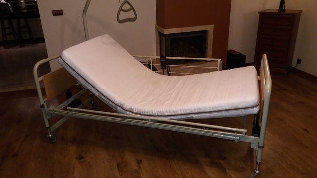 Łóżko rehabilitacyjne Scandinavian Mobility, elektryczne z materacem