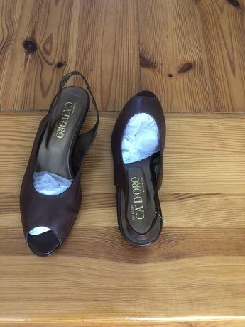 Nowe włoskie buty 40 CA D ORO