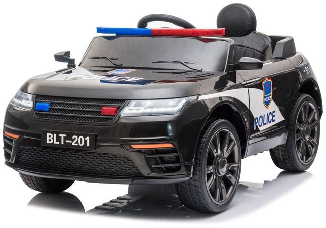 Carro Elétrico Criança Range Rapid Polícia 12V Bateria - Portes Grátis
