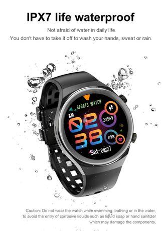 Smart Watch Q8-GT2e z telefonem BT, tętno, ciśnienie, EKG, IPX7,