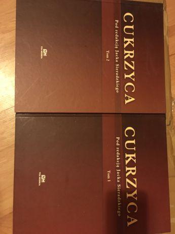 Sprzedam Cukrzyca Sieradzki tom. 1 i tom 2 nowe