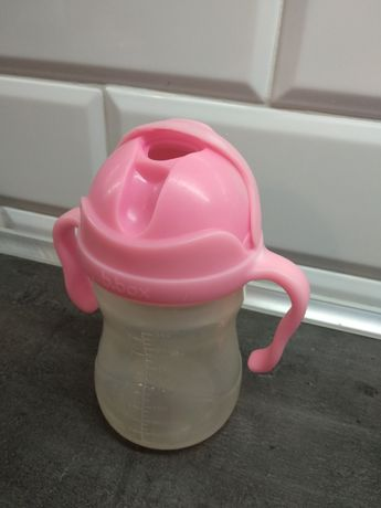 Bidon używany bbox różowy
