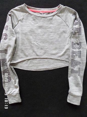 Crop top długi rękaw bluza