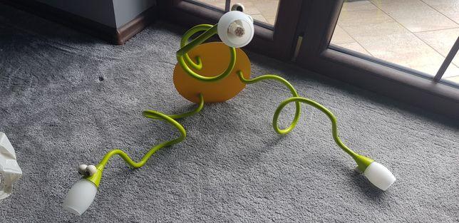 Żyrandol + Kinkiet + Żarówki Snake dla dzieci