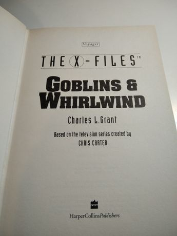 X-Files - Goblins & Whirlwind - Charles L. Grant