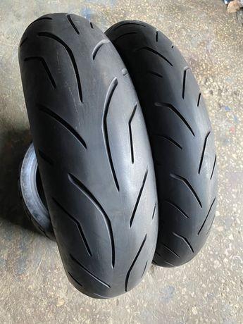 120 70 17 + 170 60 17 Bridgestone S-20, моторезина, покрышка, мотошина
