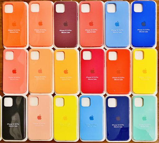 Силиконовый чехол Silicone Case (AA) для iPhone 11, 11 Pro, 11 Pro Max