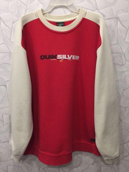 Свитшот р Мужской L Quiksilver кофта худи толстовка свитер теплый Сумы - изображение 1