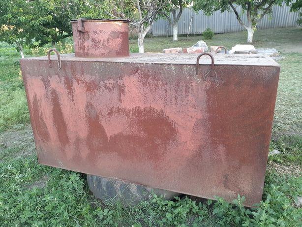 Продам бак металевий під воду або ПММ