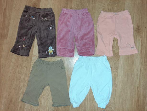 Zestaw spodni dla dziewczynki, rozmiar 62