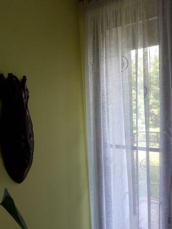 Firanka na drzwi balkonowe