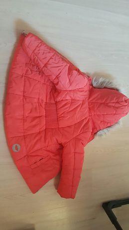 Śliczna kurteczka jesienno zimowa 104 dla dziewczynki.