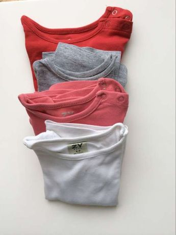 4 t-shirt maga comprida Zipy