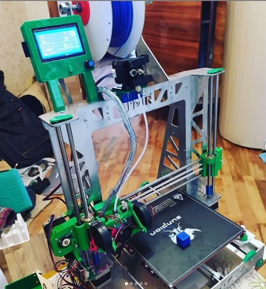 3d printer Prusa Steel. Стальная рама 3д принтера