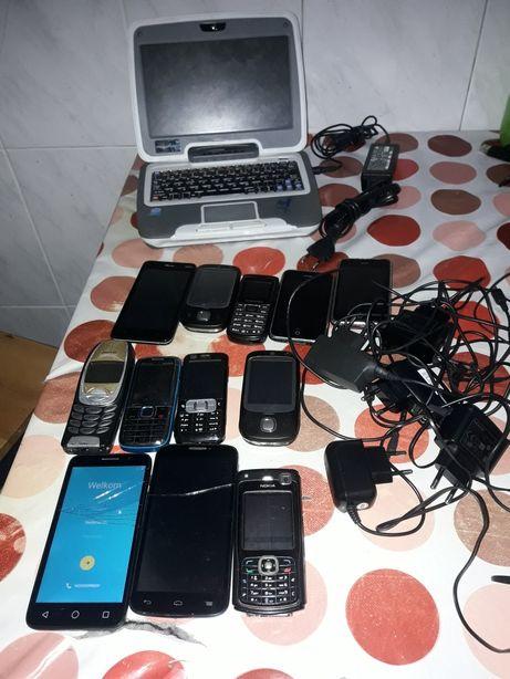 Vendo vários telemóveis e um Magalhães 1.