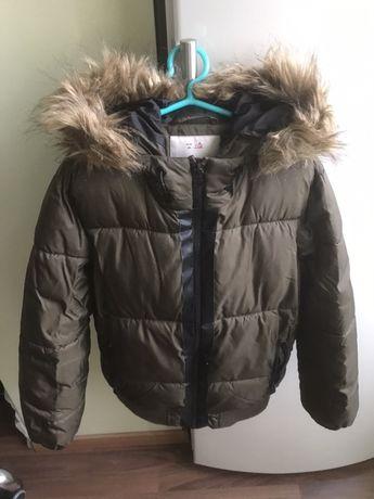 Куртка зимняя Zara, Зара на мальчика 128р., но идёт на 116-122р.