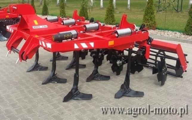 Gruber Agregat Ścierniskowy Podorywkowy 3m AGRO FACTORY! Sprężynowy!