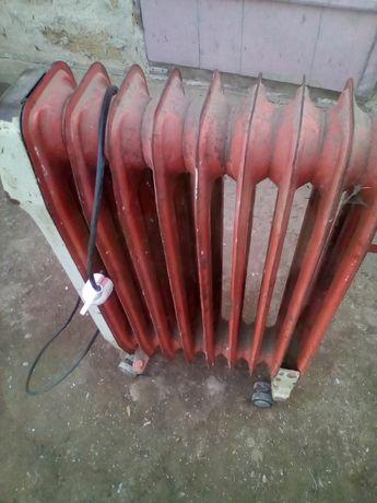 Камин радиатор масляный рабочий.