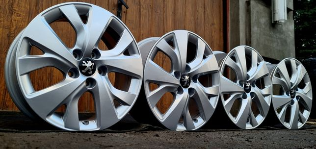 NOWE FELGI do Peugeot 308/3008/407/508/5008 16x5x108