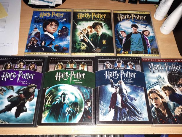 Kolekcja DVD Harry Potter 1-7a PL