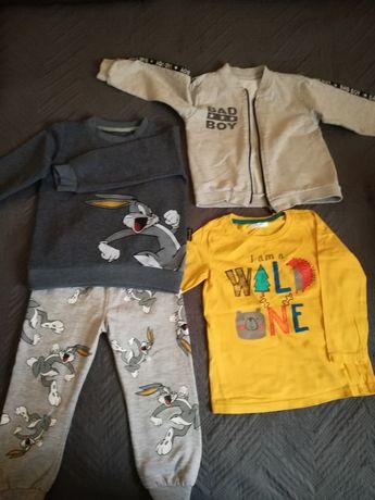 Ubranka dla chłopca 98/104