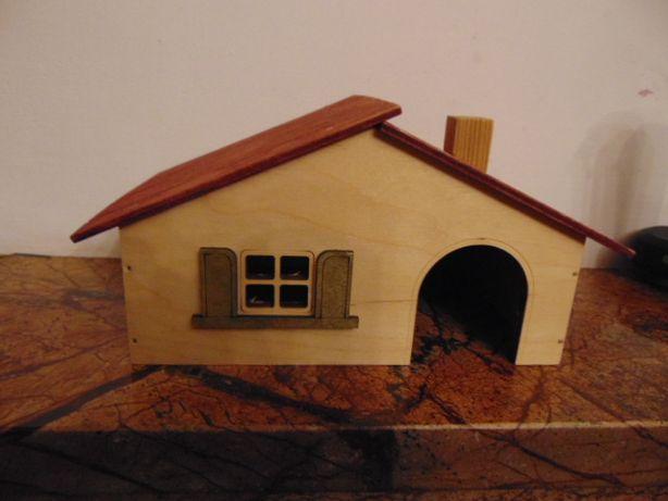 Szwedzki domek dla chomika myszy itp