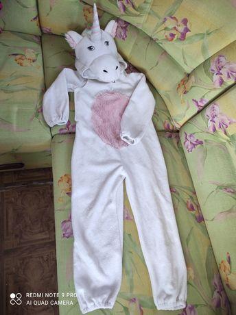 Єдиноріжок 122см костюм единорога детский єдиноріг единорожек пижама