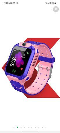 Умные часы Детские умные часы с GPS JETIX DF22 WiFi