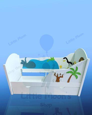 Детская подростковая кровать Мадагаскар