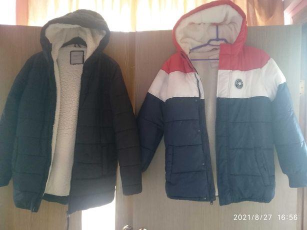 Продам куртку зима осень размер 164