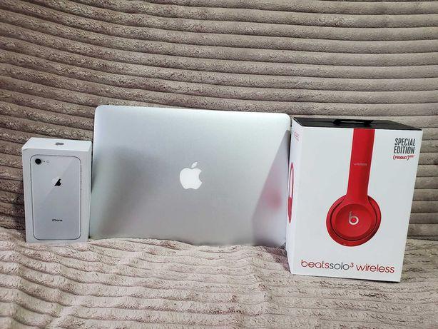 Iphone 8 64gb+MacBook Air+Aplle Słuchawki /super zestaw polecam