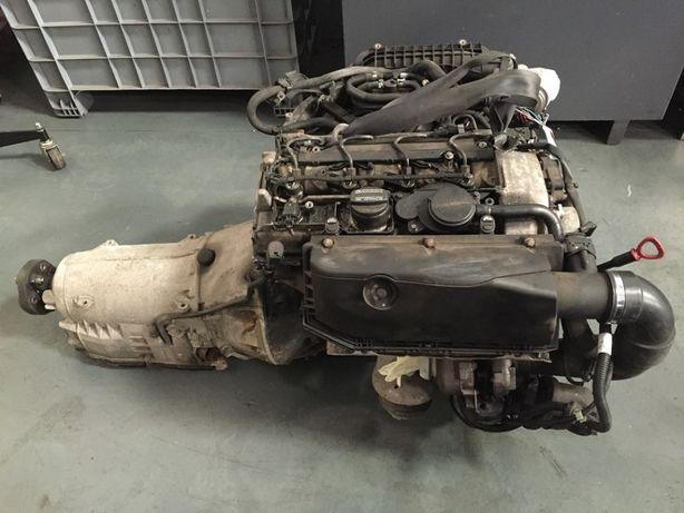 motor e caixa automatica mercedes w210 220 cdi tudo impecavel