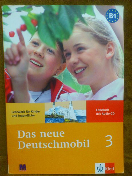 Набор Das neue Deutschmobil 3 (Lehrbuch + Arbeitbuch) + mp3