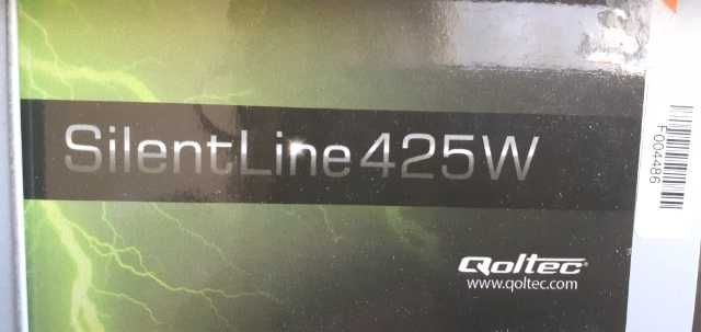 QOLTEC Zasilacz ATX SilentLine 425W