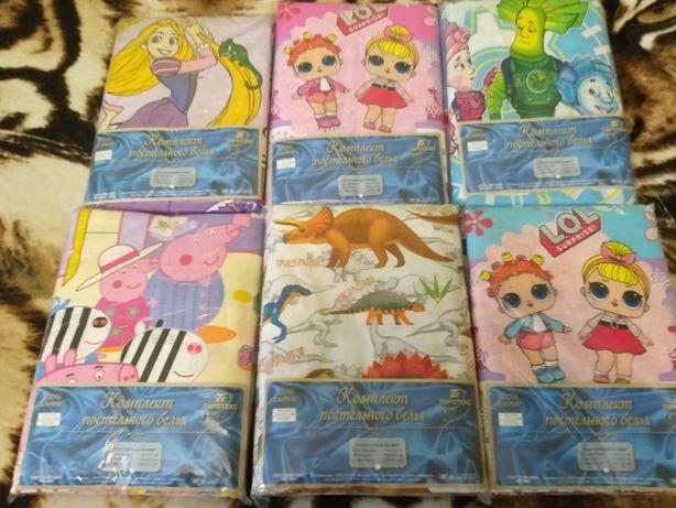 Детские постельные комплекты - любимые герои