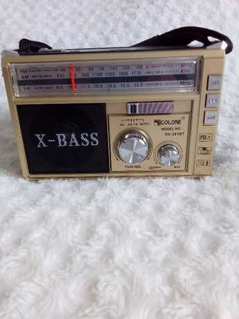 radio bass usb cartao bleetooth